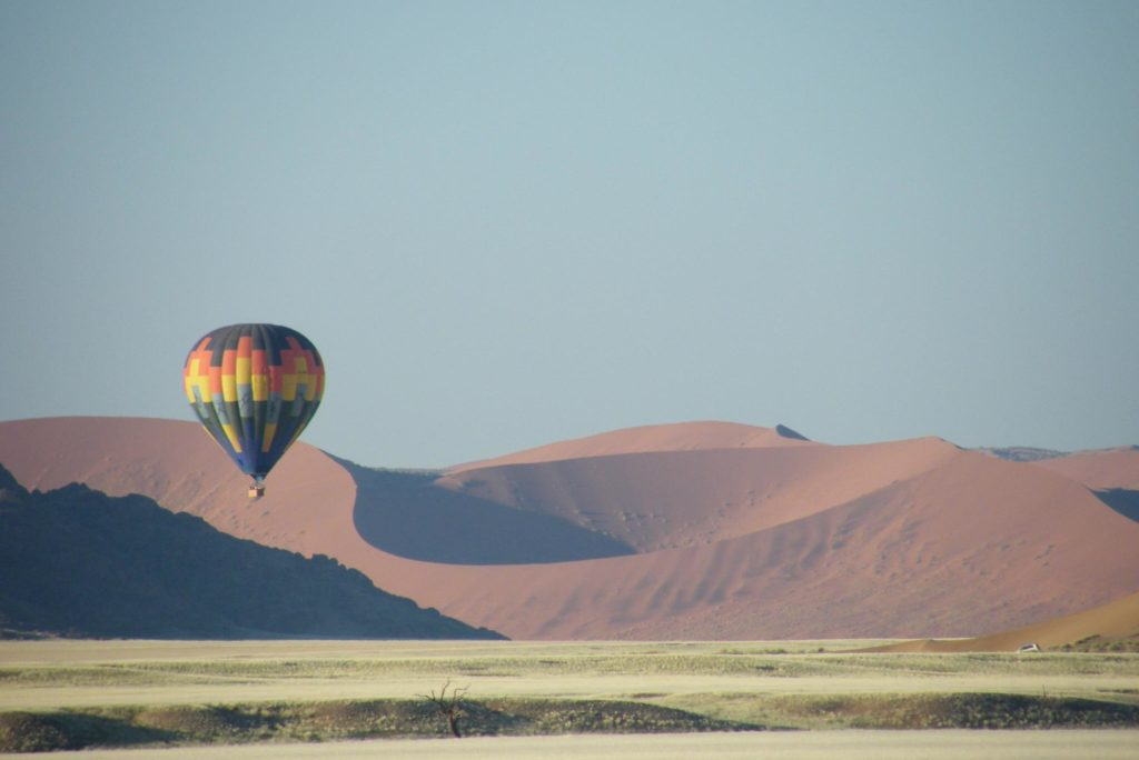 Heißluftballon-Namibia