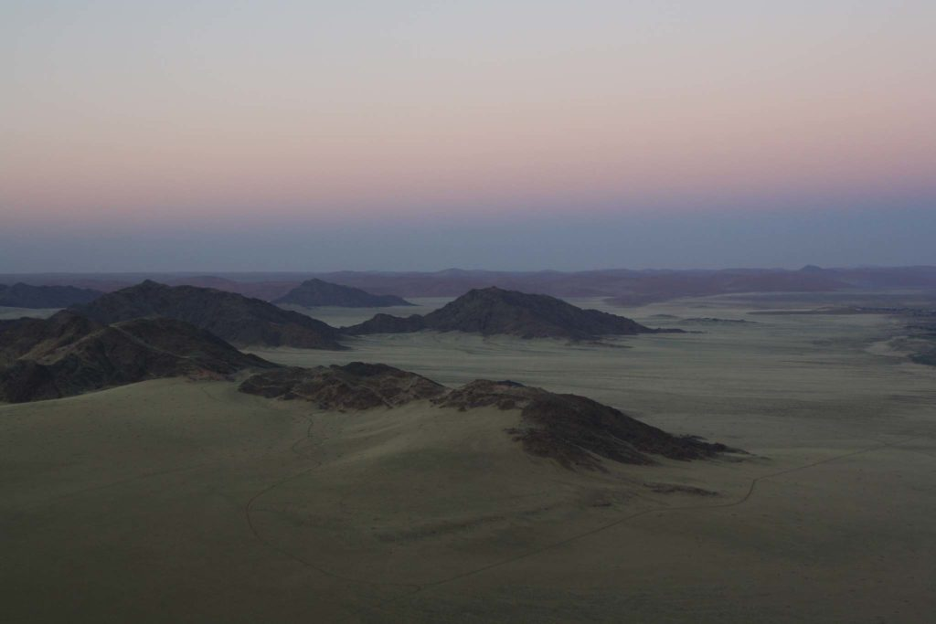Namibia vor Sonnenaufgang
