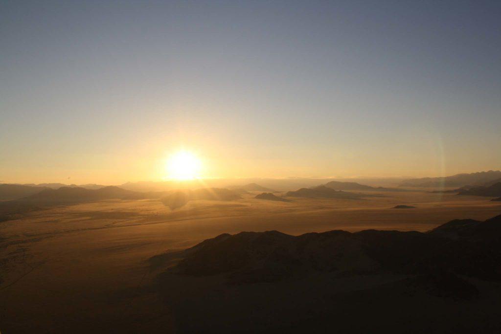 Namibia bei Sonnenaufgang